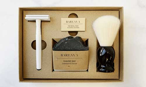 Bareaya Custom Box Inserts for Razors