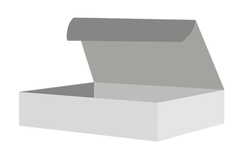 Custom Mailer Box without Wings Mockup
