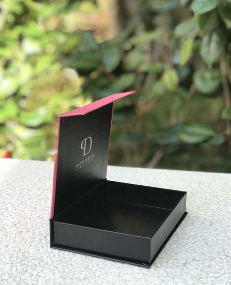 Poetry Designs Custom Rigid Box with Magnet Jewellery
