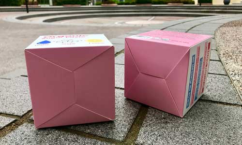 Sugaring Custom Folding Carton Box Lock Bottom