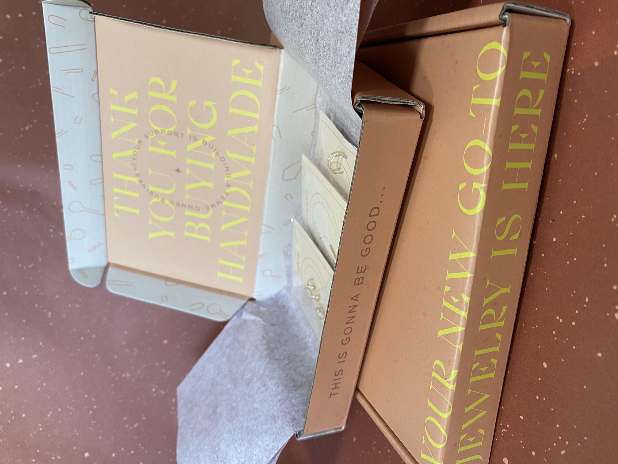 Aspera Jewelry Custom Shipping Mailer Box for Jewelry