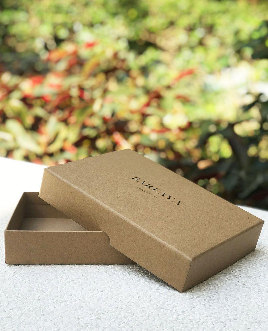 Bareaya Custom Kraft Rigid Box Full Cover