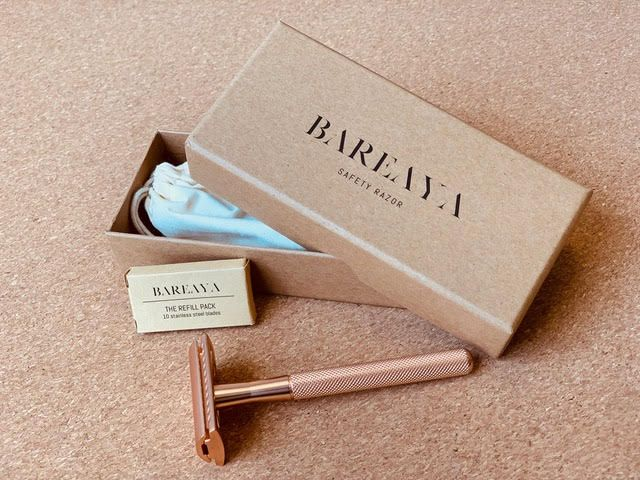 Bareaya Kraft Rigid Box for Razors
