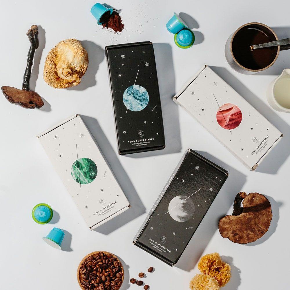 BEAMS Coffee Custom Packaging for Coffee Capsules