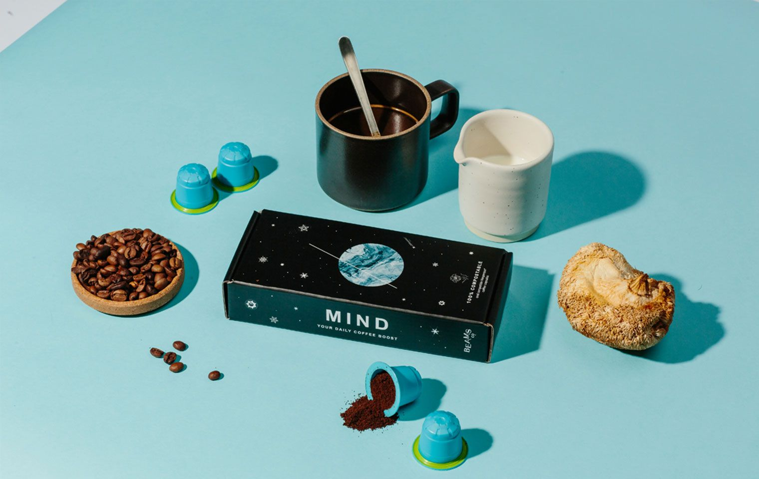 BEAMS Coffee Mailer Box for Coffee Capsules