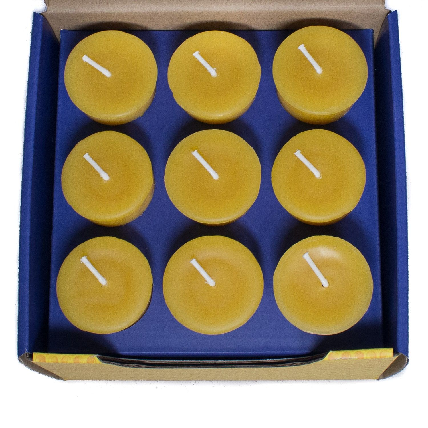 Bluecorn Beeswax Mailer Box with Custom Box Inserts for Candles