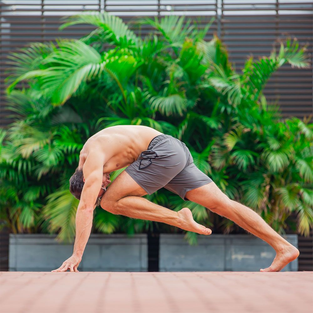 Brutal Buddha Premium Men's Yoga Shorts