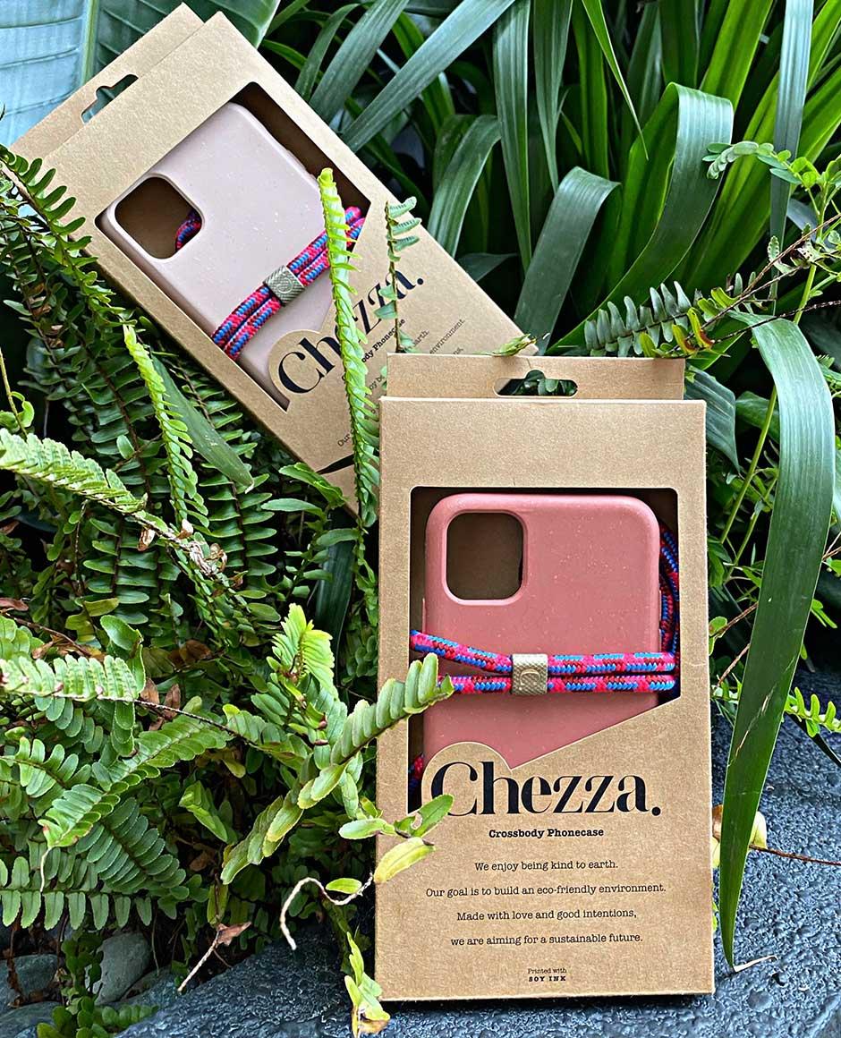 Chezza Custom Kraft Folding Carton Box with Window