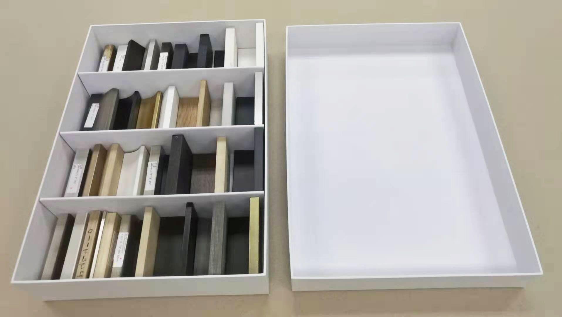 Custom Box Dividers in a Rigid Box