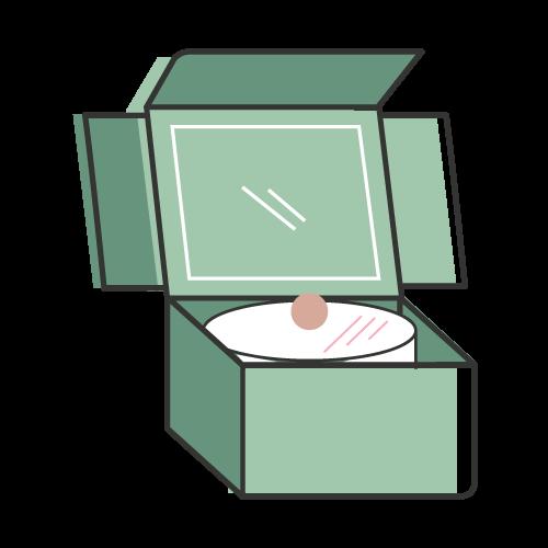 Custom Cake Box Icon