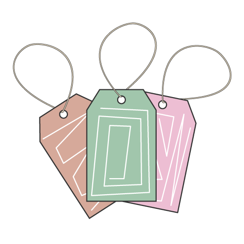 Custom Hang Tags Icon