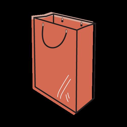 Custom Paper Bag Mockup