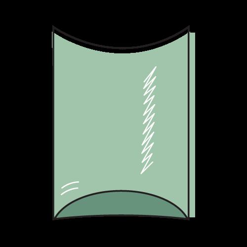 Custom Pillow Box Mockup