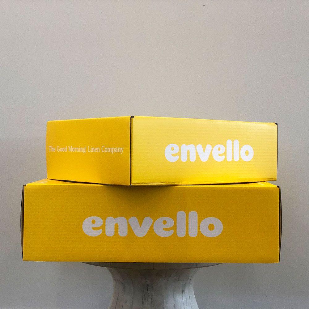 envello Custom Mailer Boxes for Linens