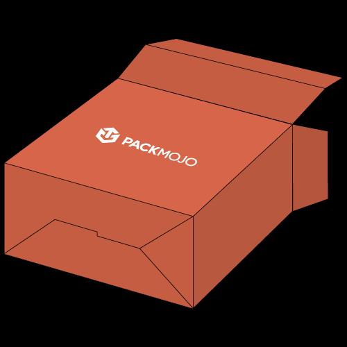 Folding Carton Box with Auto Bottom