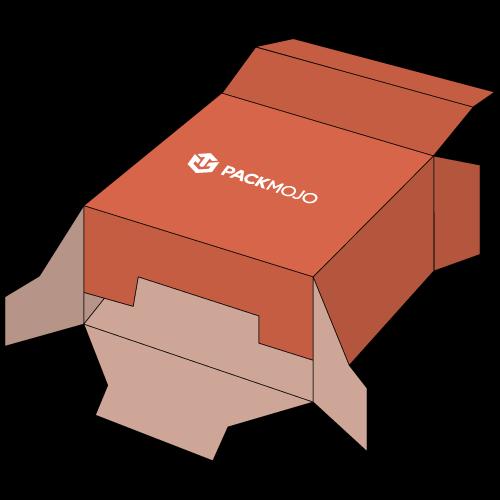 Folding Carton Box with Snap Lock Bottom