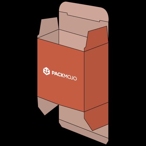 Folding Carton Box Straight Tuck End