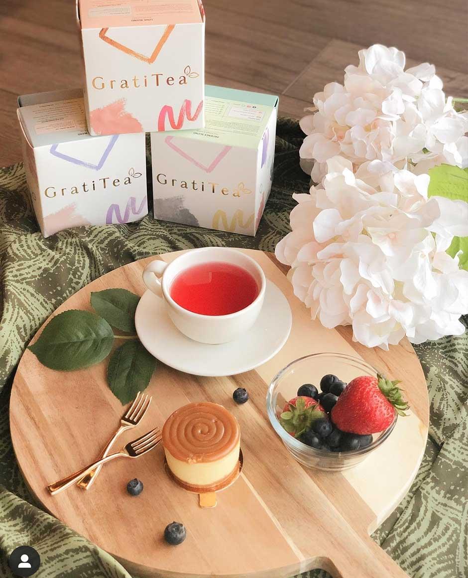 GratiTea Custom Box Packaging for Tea