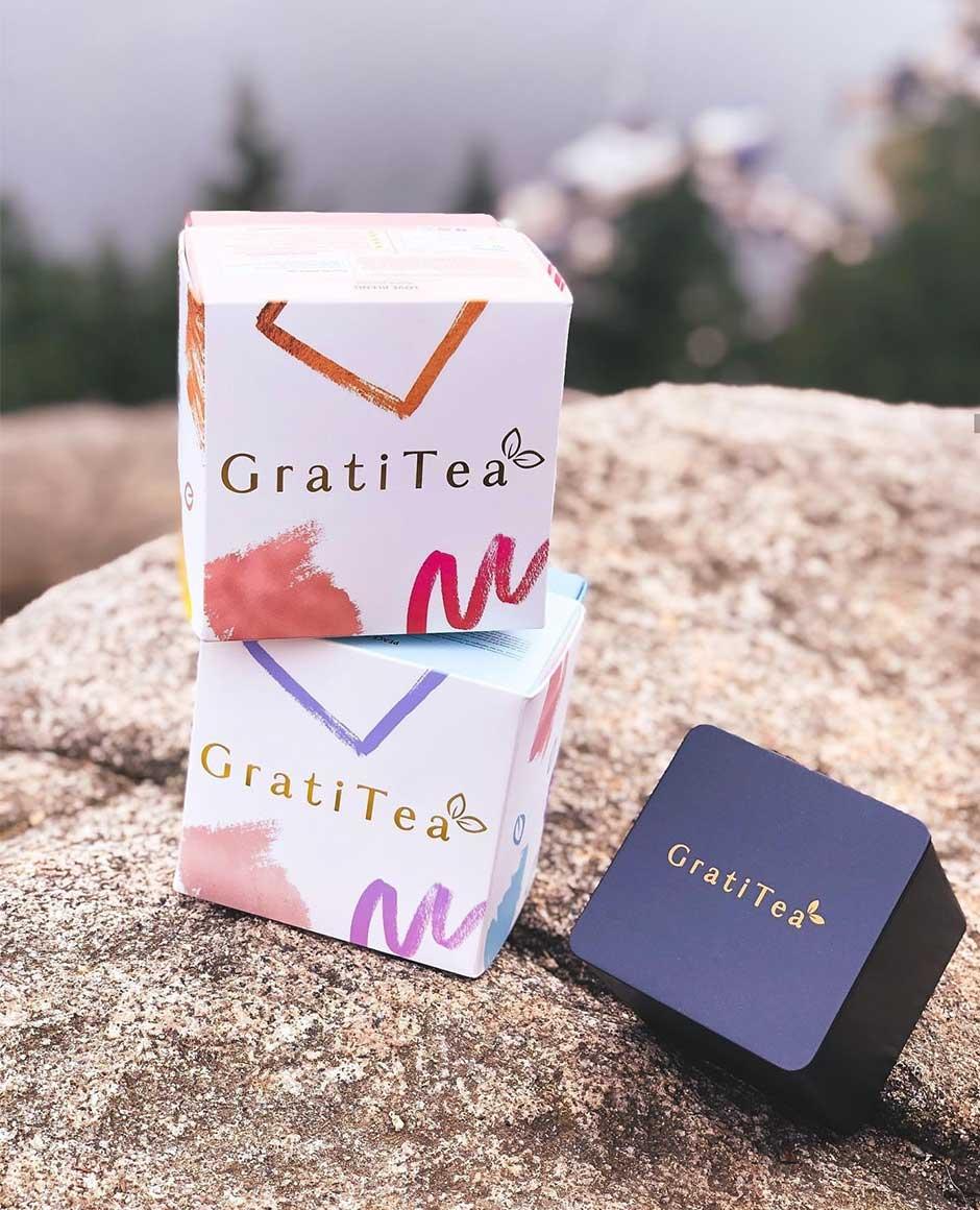 GratiTea Rigid Boxes for Tea