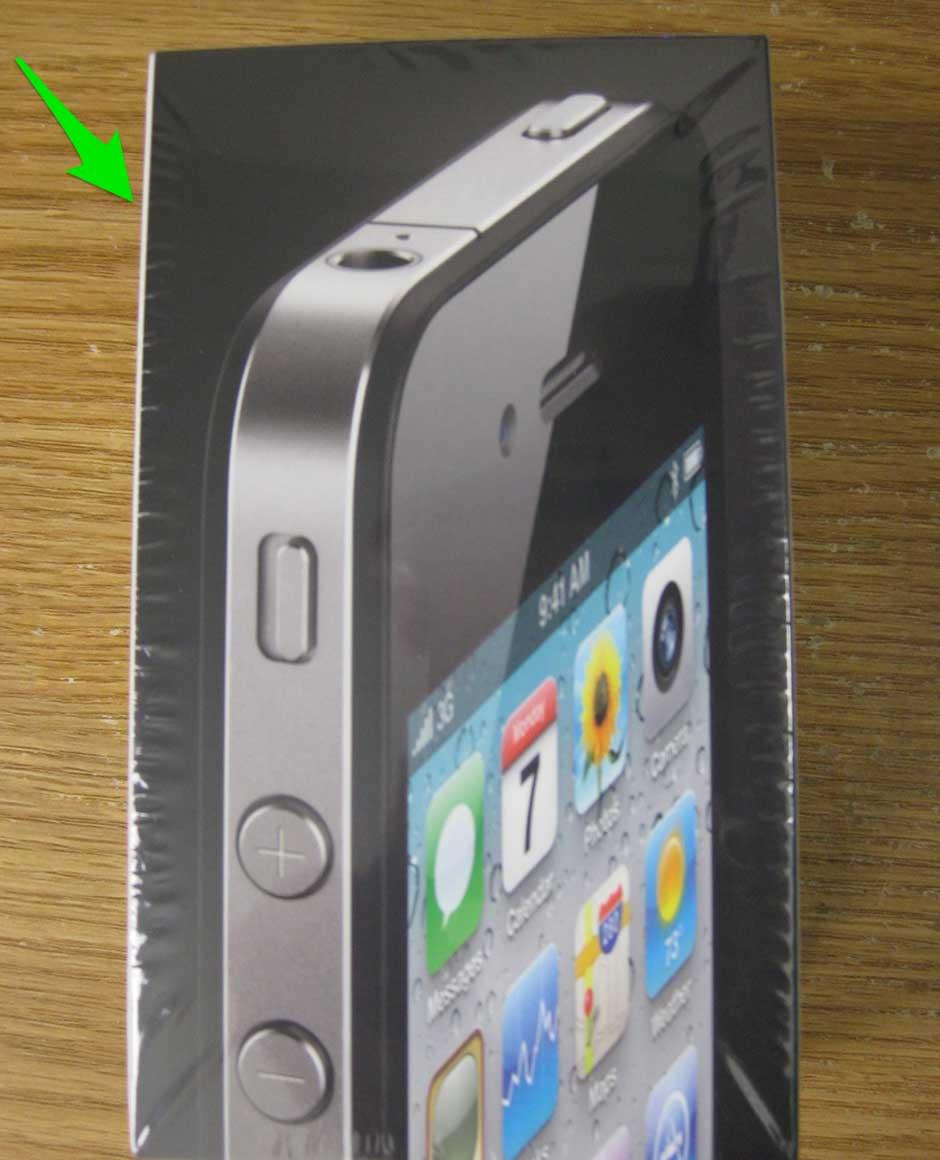 iPhone Packaging Bleeds