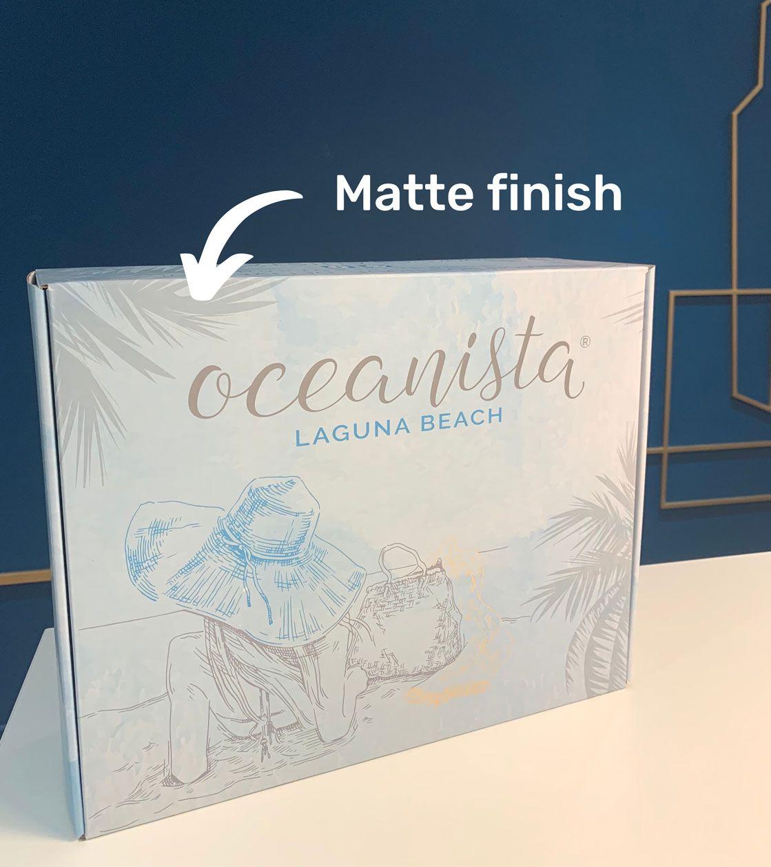Matte Finish Mailer Box