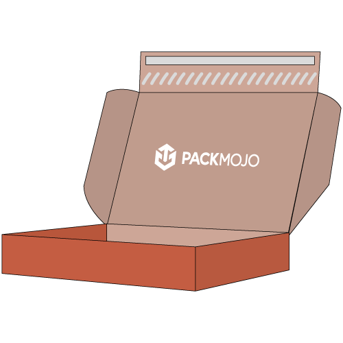 Mailer Box with Adhesive Strip Icon