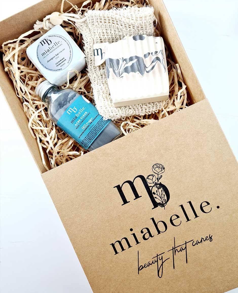 Mia Belle Custom Kraft Tray and Sleeve Box