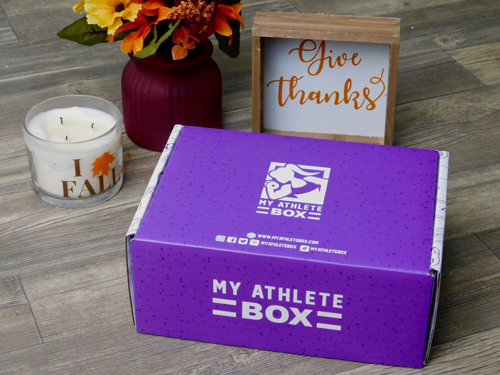 My Athlete Box Subscription Box Packaging
