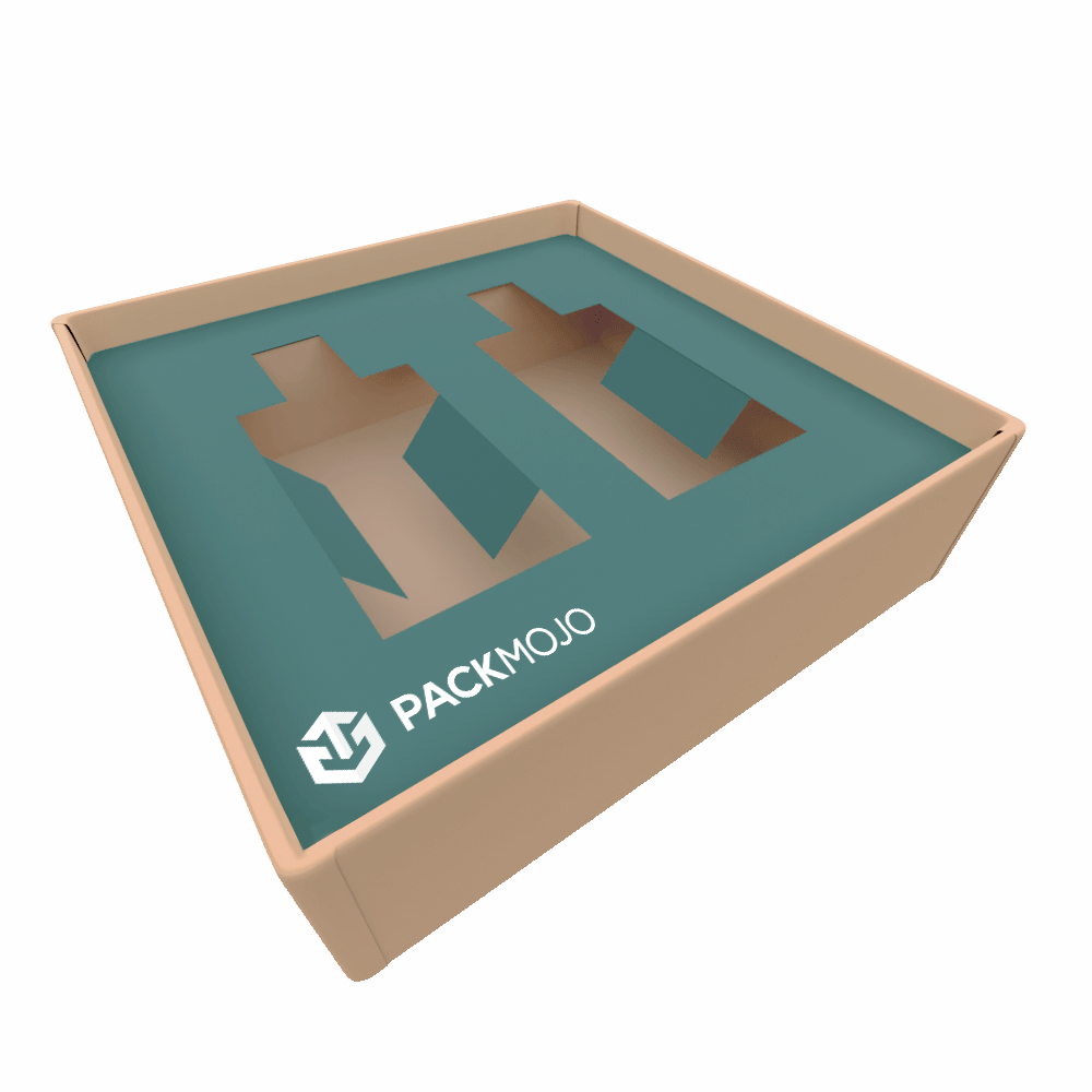 Custom Box Inserts Mockup PackMojo