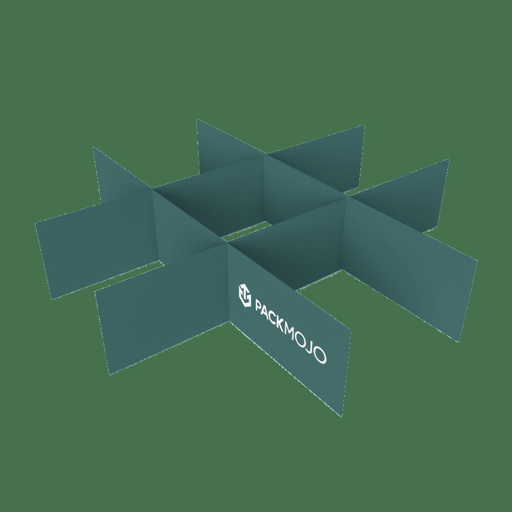 Custom Box Partitions Mockup PackMojo