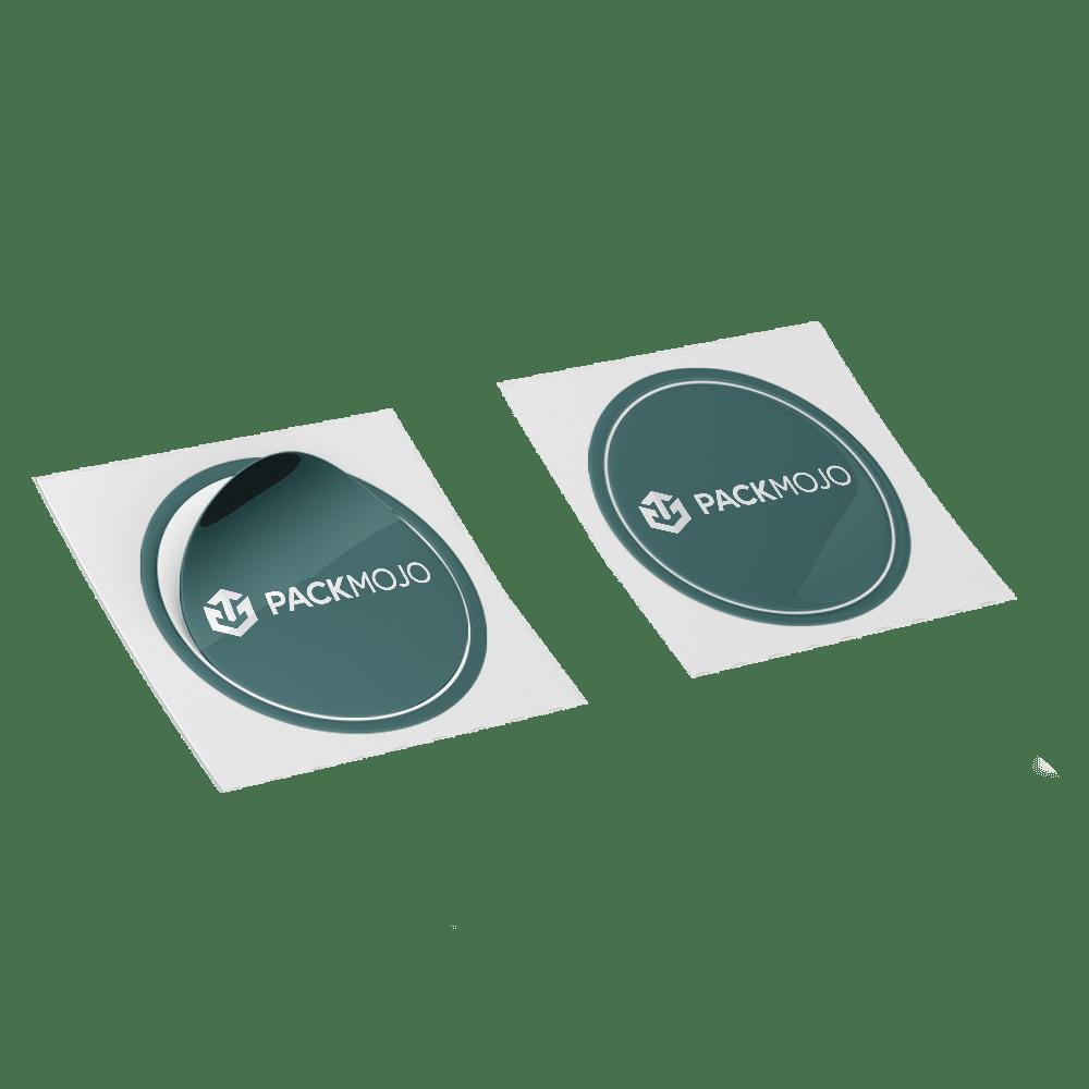 Custom Kiss Cut Stickers Mockup PackMojo