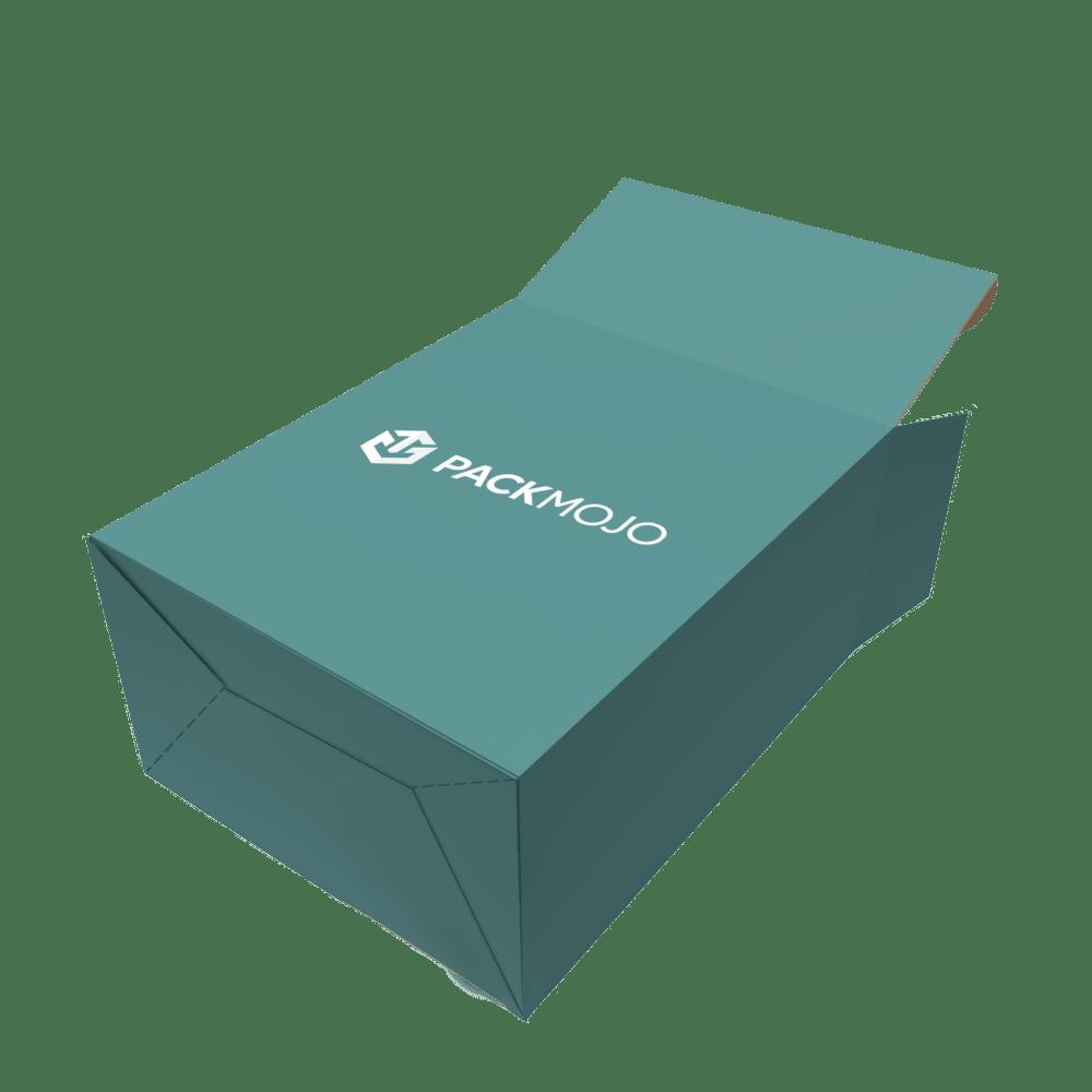 Folding Carton Box Auto Lock Bottom Mockup PackMojo