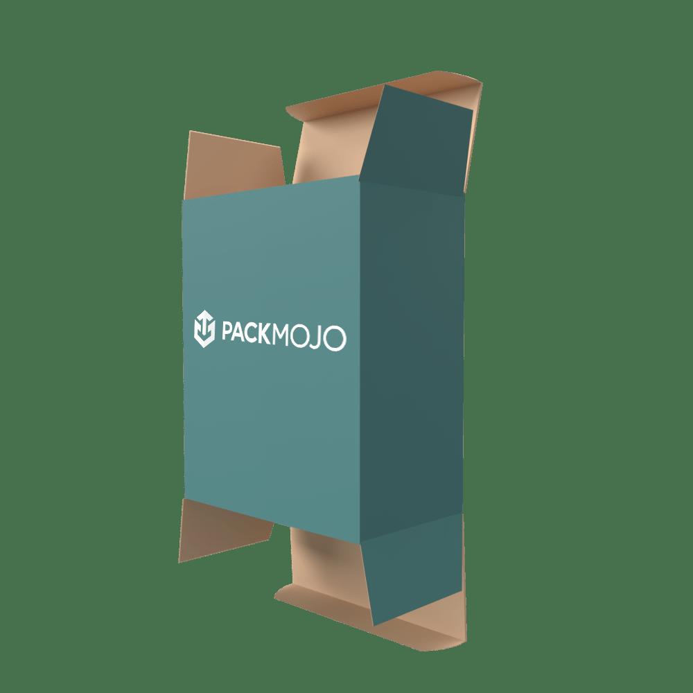 Straight Tuck End Folding Carton Box Mockup PackMojo