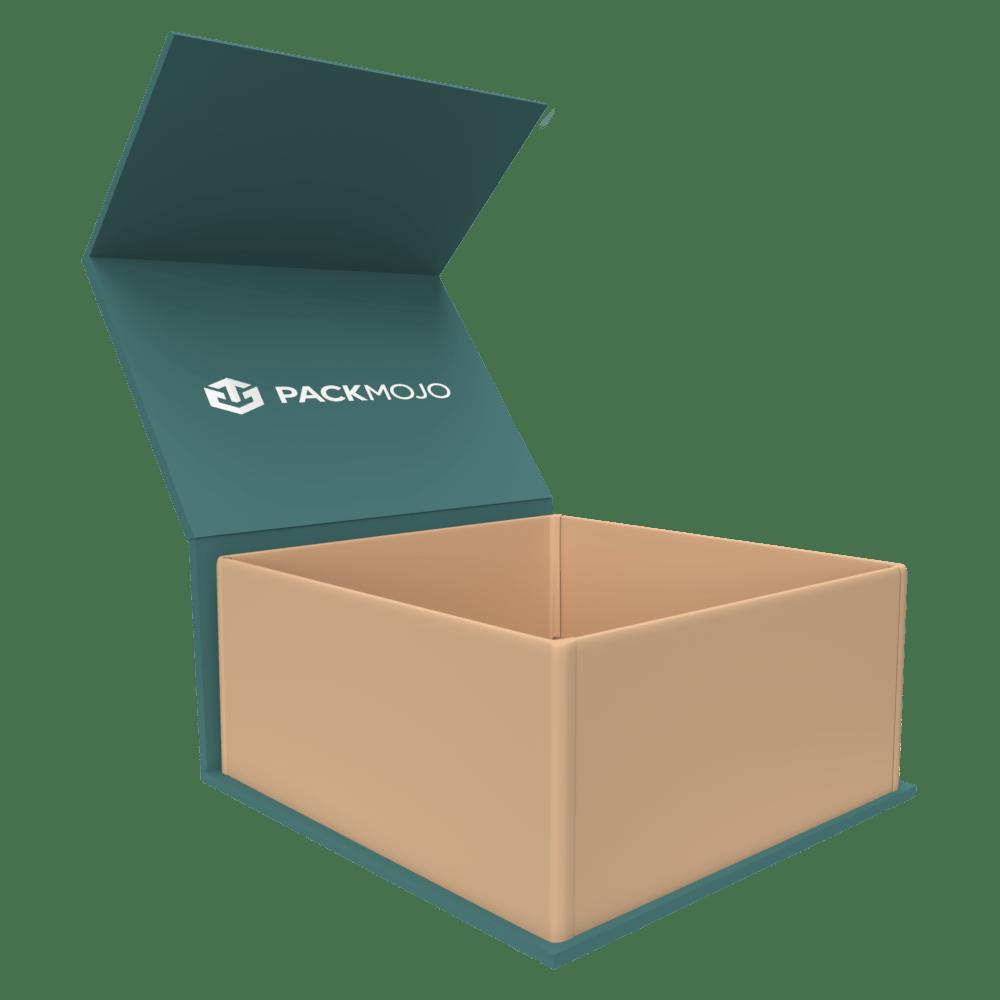 Magnetic Lid Rigid Box Mockup PackMojo