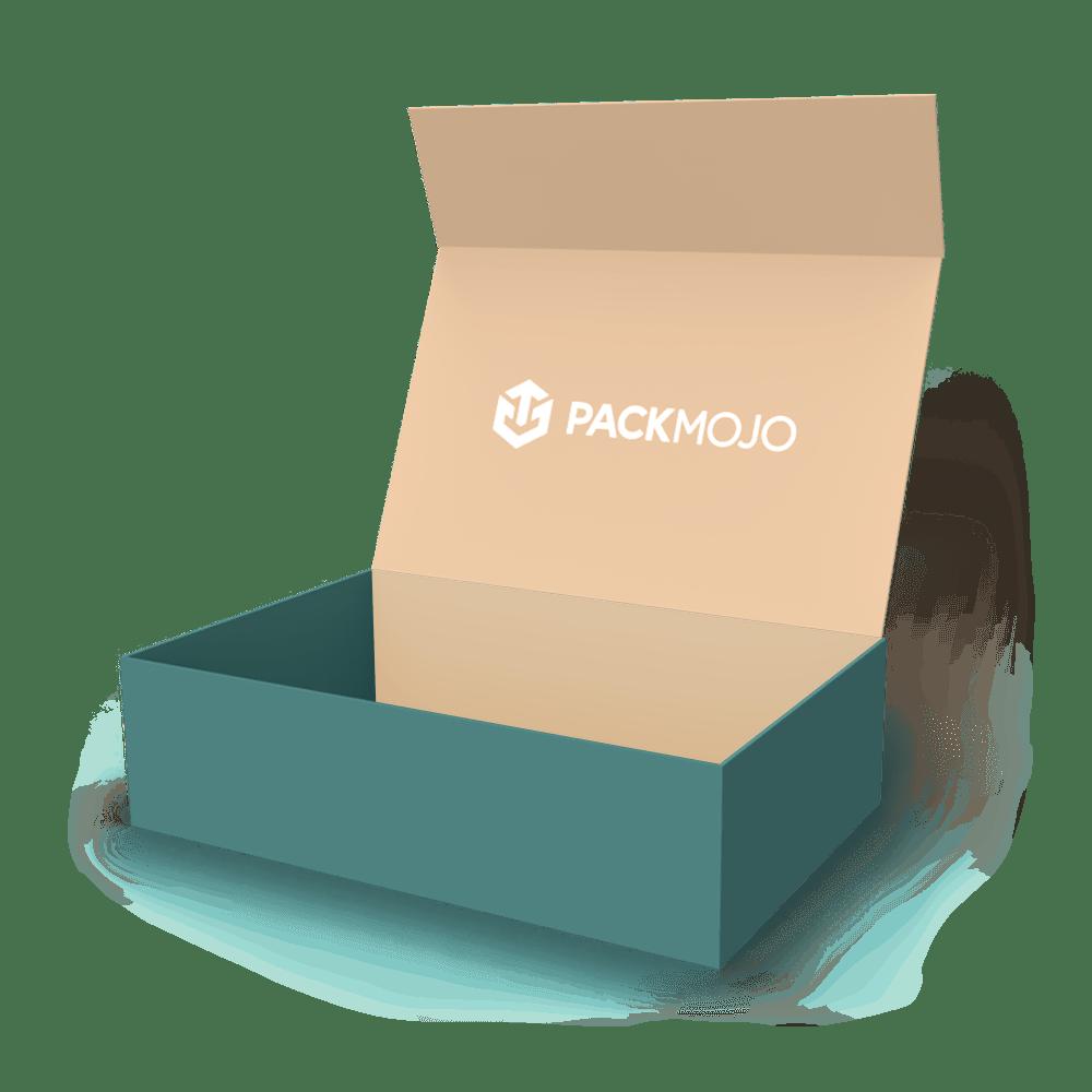 Mailer Box without Flaps Mockup PackMojo