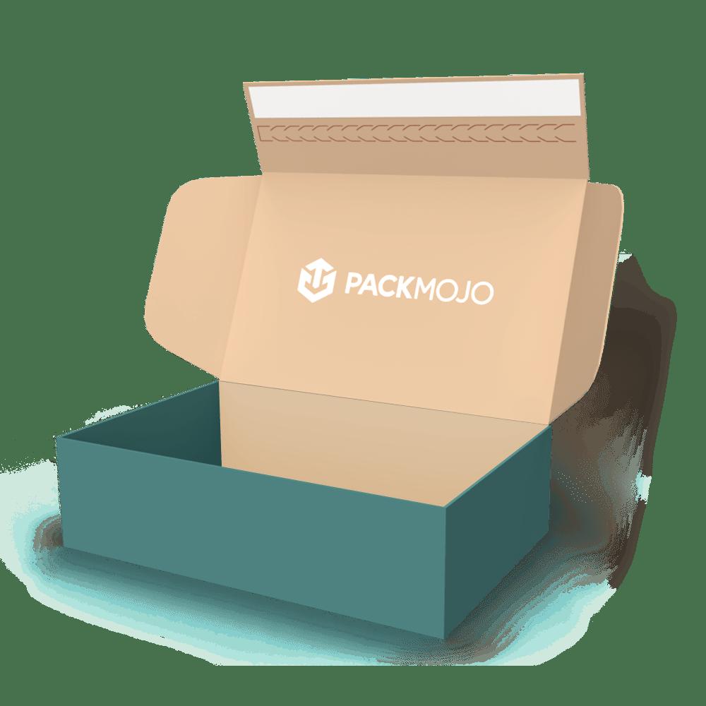 Mailer Box with Adhesive Strip Mockup PackMojo