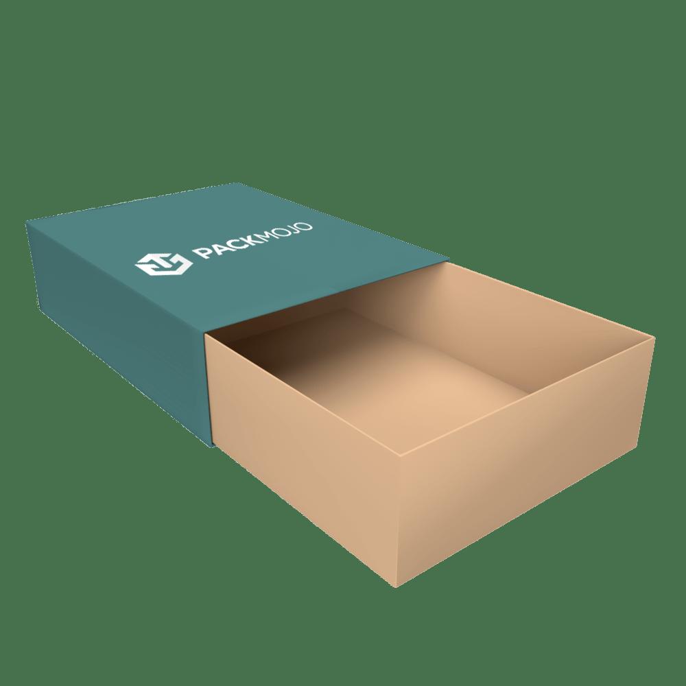 Foldable Tray and Sleeve Box Mockup PackMojo