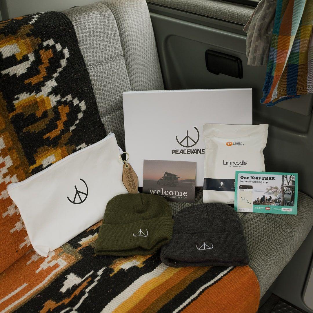 Peace Vans Custom Magnetic Box with Print