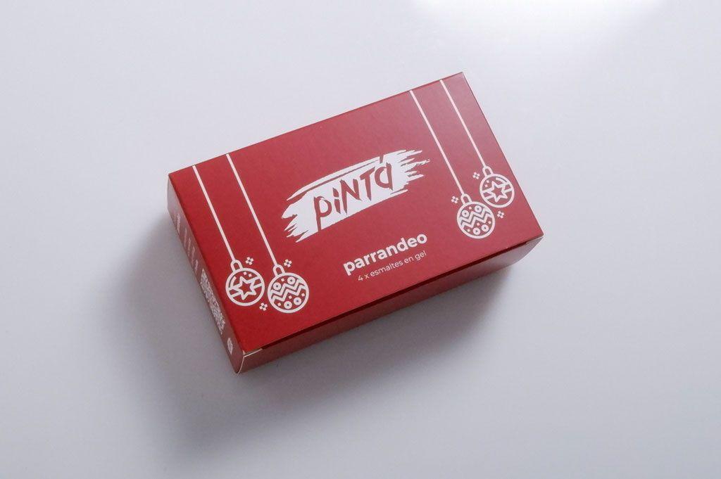 Pintá Beauty Custom Printed Folding Carton Boxes