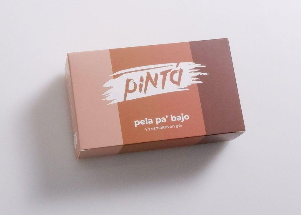 Pintá Beauty Folding Carton Box for Gel Polish