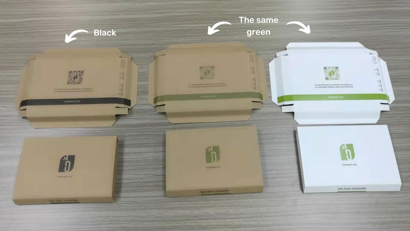 Differences in Colors When Printing on Kraft Paper vs White Paper