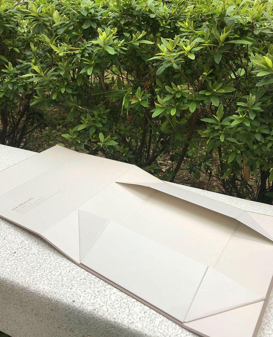 Six Realms Collapsible Rigid Box Flat