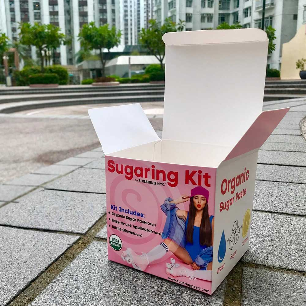 Sugaring Folding Carton Box Tuck Flap