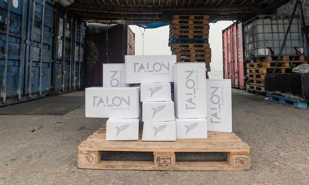 Talon Esports Custom Mailer Box