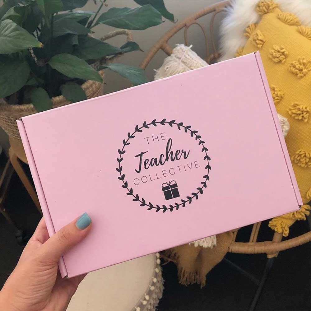 The Teacher Collective Subscription Box Packaging Box