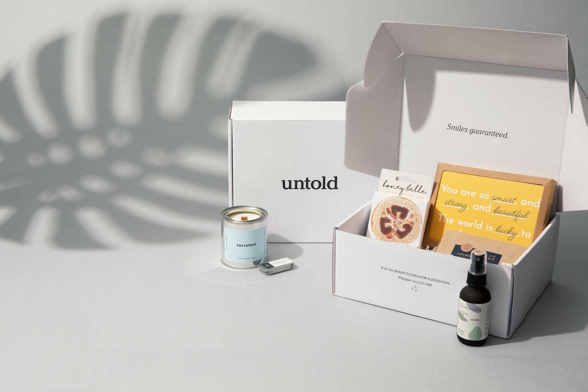 untold Custom Printed Mailer Boxes